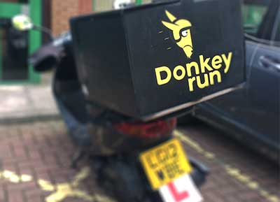 Donkeyrun Delivery Scooter